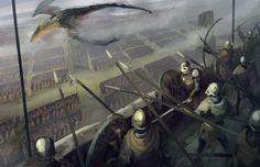 Castle siege by QuintusCassius.deviantart.com on @DeviantArt
