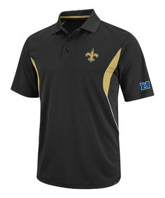 Loving this New Orleans Saints Solid Pique Polo - Men  amp  Tall on  zulily ac49d0dd5