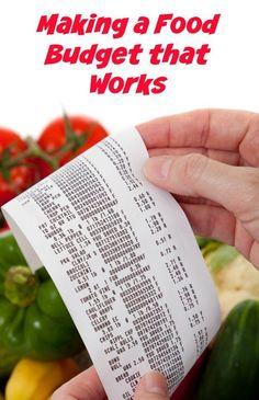Making a Food Budget