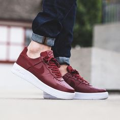 Nike Air Force 1 Ultraforce Leather - Team Red Team Red-White available now e4be50740