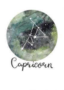 Capricorn Star Sign Print – Zodiac Art Print – Constellation Print – Capricorn G… – Astrologie Capricorn Constellation Tattoo, Capricorn Art, Zodiac Art, Astrology Zodiac, Capricorn Aesthetic, Wallpaper Fofos, Kunst Poster, Free Art Prints, Zodiac Constellations