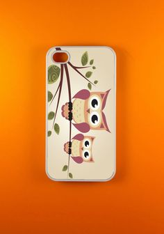 Iphone 4 Case  Two Owls Iphone Case Iphone 4s Case by DzinerCases, $14.99