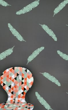 FEATHERS- WALL DECAL