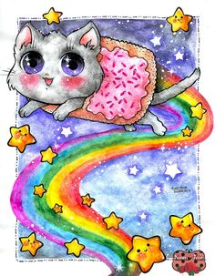Nyan Cat by Karen-Toon