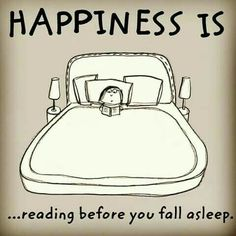 I always sleep really well after reading...unless I stay up all night to finish the book!