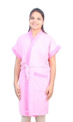 Romano Women's Classy Pink Bathrobe *** This is an Amazon Affiliate link. To view further for this item, visit the image link.