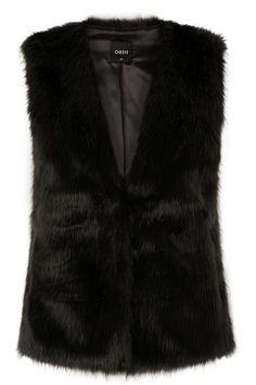 Short Glam Fur Gillet