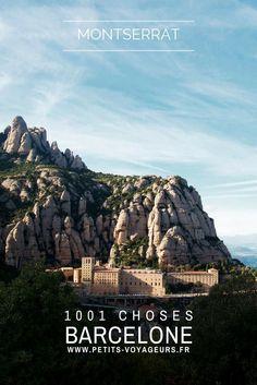 BALADE - A moins de 30 minutes de voiture de Barcelone, la montagne de Montserrat et son monastère mythique feront l'objet d'une superbe balade sur la journée. #Espagne #Barcelone #Montserrat #Monastère #Voyage #Information #Guide #Itinéraire