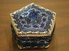 Cynful Musings: Beaded Boxes