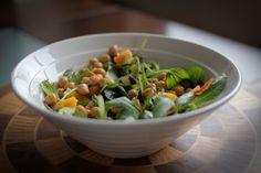 Three ways with Chickpea Marinated Salad
