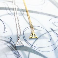 Collier Harry Potter - Xenophilius Lovegood - Deathly hallows