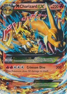 M Charizard EX 13/106 - Pokemon XY Flashfire MEGA ULTRA RARE Card #Pokemon