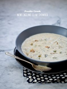 Clam Chowder from @Foodie Crush plus 7 more lovely soups!!!
