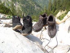 Wandern in den Alpen / Austria