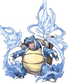 This is my Blastoise. Got him from trade, and he's been a great help to my pokedex! He is Level 53 so far!