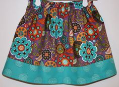 Moda Native Sun Cactus Flower   Size 2 to 7 by bubblenbee on Etsy