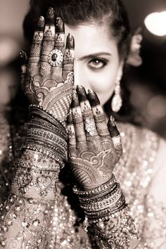 "Mehndi or Henna word comes from the Sanskrit Language as ""Mendhika"". Henna Mehndi designs became a new cool, where they … Pakistani Mehndi Designs, Latest Bridal Mehndi Designs, Henna Designs, Latest Mehndi, Mehendi Photography, Indian Wedding Photography Poses, Indian Bride Poses, Indian Wedding Poses, Indian Wedding Bride"