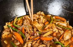 Asian Recipes, Ethnic Recipes, Wok, Chinese Food, Food For Thought, Food Inspiration, Chicken Recipes, Healthy Living, Good Food