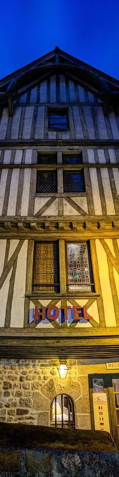 """Medieval Hotel - from the Exhibition: """"Cropped for Pinterest"""" - photo from #treyratcliff Trey Ratcliff at www.StuckInCustoms.com - all images Creative Commons Noncommercial"""