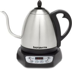 Looking for Bonavita Digital Variable Temperature Gooseneck Kettle ? Check out our picks for the Bonavita Digital Variable Temperature Gooseneck Kettle from the popular stores - all in one. Butterfly Pea Flower Tea, Pour Over Kettle, Perfect Cup Of Tea, Glass Teapot, Hibiscus Tea, Hibiscus Recipe, Chamomile Tea, Tea Latte, Brewing Tea