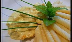 "Kuřecí ""Gyros"" ve smetanové omáčce Celery, Vegetables, Vegetable Recipes, Veggies"