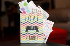 Love Your Planner Sticker Organizer