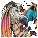 :CO: Wings of glory (200x200 pixelart) by DodoIcons.deviantart.com on @deviantART