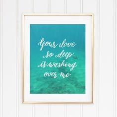 "Love So Deep | 8""""x10"""" Art Print"