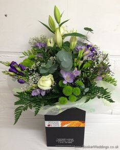 Wedding Flowers Liverpool, Merseyside, Bridal Florist, Booker Flowers and Gifts, Booker Weddings Cream Wedding, Rose Wedding, Wedding Day, Purple Wedding Flowers, Wedding Colors, Georges Hall, Colorful Flowers, Beautiful Flowers, Gypsophila Wedding