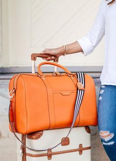 f29a81ecd1ad Travel in style with our West 57th Weekend Duffle  whether you re heading  for