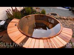 Western Red Cedar Hot Tub Construction - YouTube