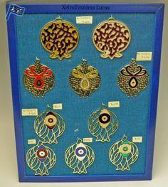 Πρωτότυπα μεταλλικά ρόδια με σμάλτο σε διάφορα χρώματα και σχέδια ιδανικά για να κατασκευάσετε γούρια. Pomegranate charms with enamel color made in Greece.