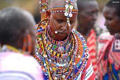Maasai bride, Olepolos, Kenya
