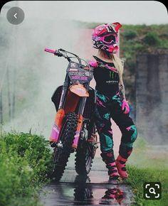 motocross supercross enduro dirtbikes offroad harley gear motorcycle supermoto y. Motorcross Bike, Motorbike Girl, Motorcycle Bike, Anime Motorcycle, Motorcycle Touring, Motorcycle Quotes, Motocross Girls, Motocross Gear, Dirt Bike Girl