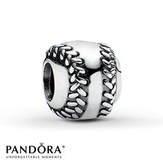 Pandora Charm Baseball Sterling Silver. I need this, with the Brewers logo engraved onto it!