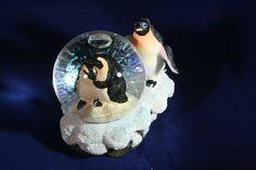 Pinguïn met sneeuwbal