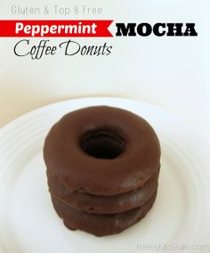 Keeley McGuire: Peppermint Mocha Coffee Donuts {Gluten & Top 8 Allergy Free} #Recipe