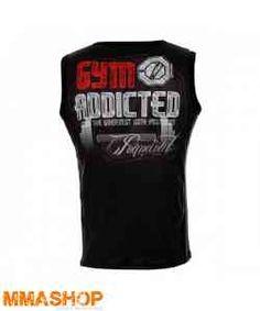 Gym Addicted tank top.  Køb den på www.mmashop.dk