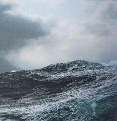 """theparisreview:  """"I've missed some very spectacular shots because I was needed during a bad storm or heavy fishing."""" —Corey Arnold, """"Storm, Gulf of Alaska,"""" from """"Fish-Work."""""""