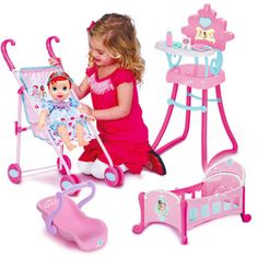 Disney Princess Baby Ariel with Royal Accessories Playset *** Isla loves all the toddler and baby doll versions of the princesses. She has cinderella and repunzel already Girls Princess Room, Disney Princess Babies, Princess Toys, Baby Princess, Baby Disney, Toddler Girl Gifts, Toddler Toys, Kids Toys, Baby Alive Dolls