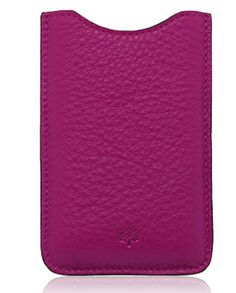 mulberry iphone sleeve