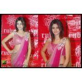 Apex Thread Latest Designer Fancy Attractive Colour Light Pink Saree