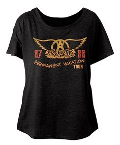 Vintage Black 'Permanent Vacation' Dolman Tee - Women & Plus