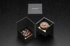 #Bvlgari - Luxury chocolate #luxuryjewelrypackaging