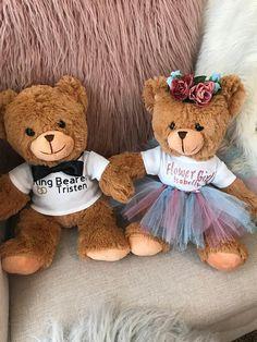 1ffc0e1b87a Personalized Ring Bearer Teddy Bear - 15