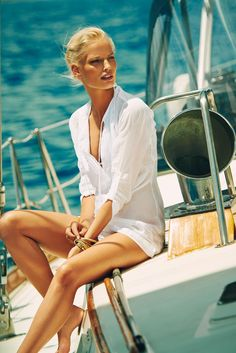 Heidi Klein Little Dix Bay Pin Tuck Shirt