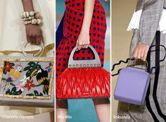 Runway Spring/ Summer 2017 Handbag Trends: Bags with Rounded Handles