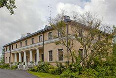 The Kyyhkylä old manor from 1856 in the province of South Savonia, Finland | Herrasväen asuinpaikat - Eteläsavon kartanot ja kartanoiksi kutsutut