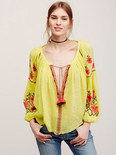 FP One FP One Marishka Blouse at Free People Clothing Boutique
