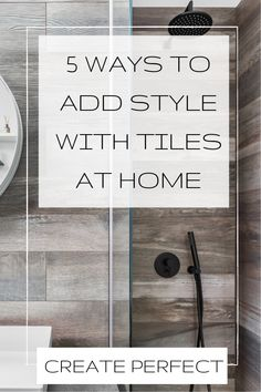 Discover 5 ways you can add style to your home with tiles. Ideas for kitchens, bathrooms, living rooms and outdoor areas. Discover ways to lay tiles and new patterns, shapes and trends for interior design projects Luxury Interior Design, Interior Design Inspiration, Home Decor Inspiration, Interior Styling, Interior Decorating, Beautiful Bedroom Designs, Beautiful Bedrooms, Lego Duplo, Bathroom Layout